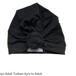 Headbands of Hope Adult Black Head Turban